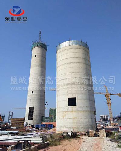 120米烟囱新建