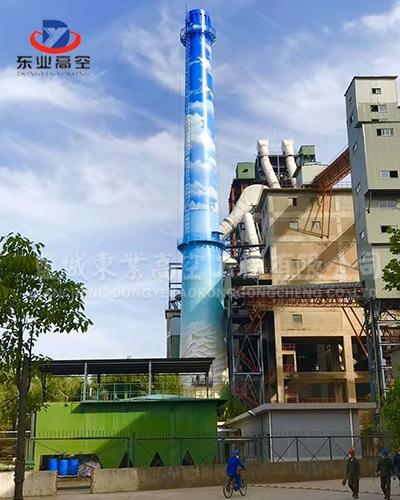 北京专业烟囱美化