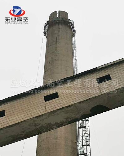 北京烟囱人工拆除