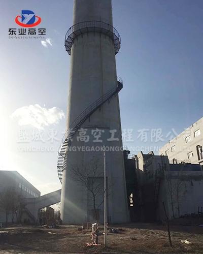 40米旋转梯制作安装
